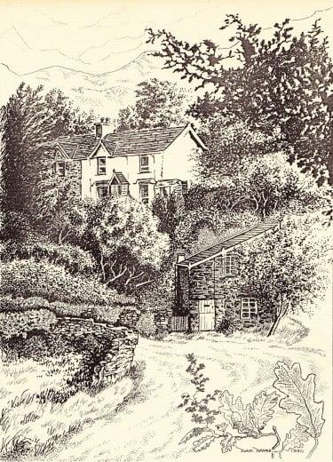 Terraced Cottages Lanferres Denbighshire