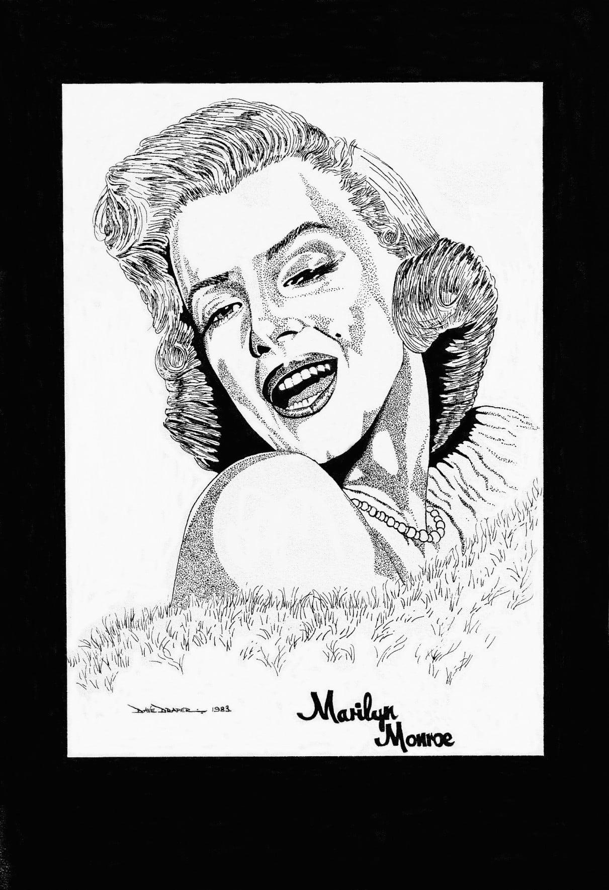 Classic marilyn on display - 4 8