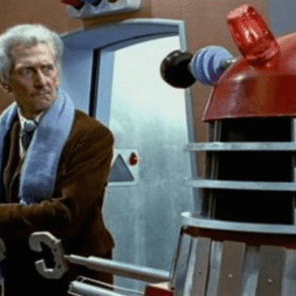 Dr Who and Dalek