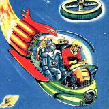 Spaceman Dan and his Robot Sam
